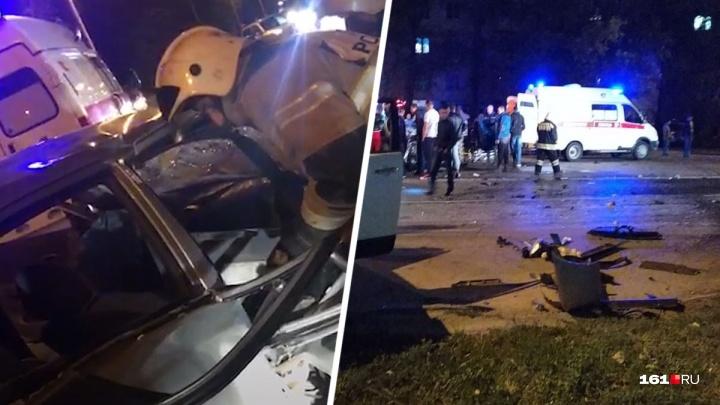 В Волгодонске в аварии на Морской погибла женщина