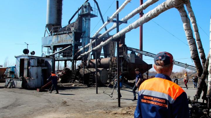 Асфальтовый завод, который закрывают по требованию прокуратуры, за зиму переведут на газ