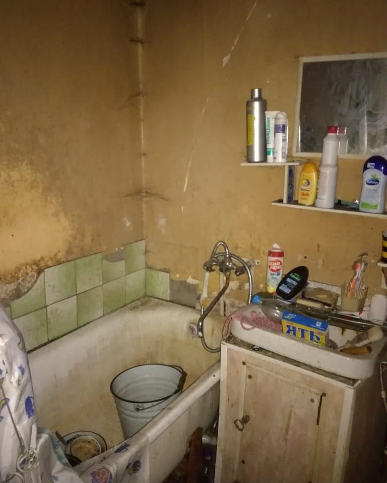 Люди живут в антисанитарных условиях