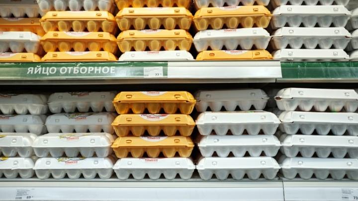 В Прикамье стоимость куриных яиц выросла за месяц на 23%