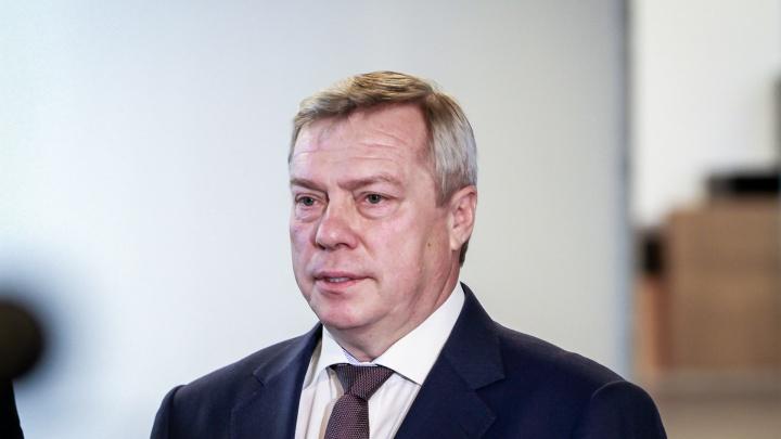 Черная пятерка: Василий Голубев рассказал о самых важных проблемах Ростовской области