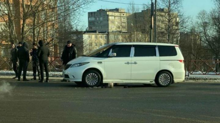 В Ярославле на ликвидированном переходе минивэн переехал пешехода