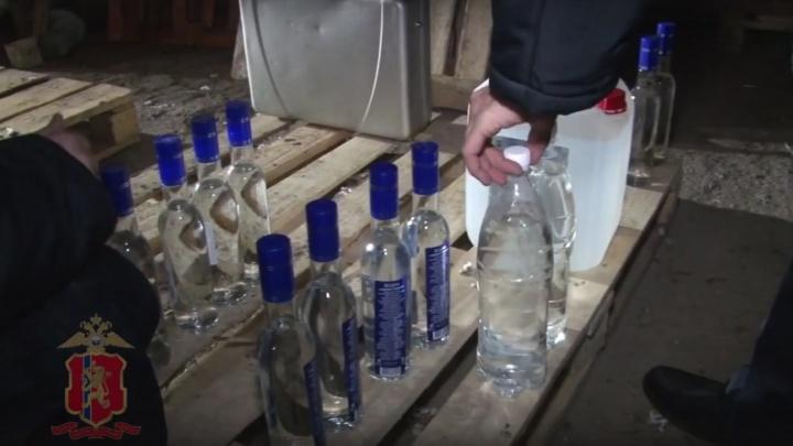 У владельца общепита изъяли палёную водку на 400 тысяч
