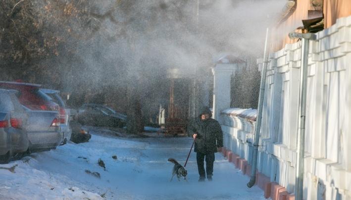 Красноярцев предупредили об усилении ветра и метелях