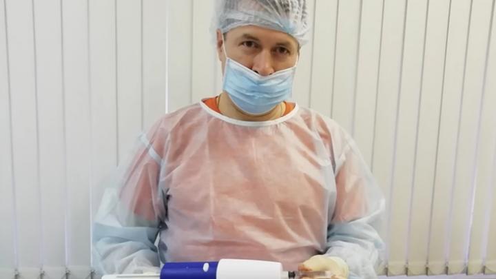 «Один прокол — и черных вен нет»: хирурги 40-й больницы научились лечить варикоз по новой технологии