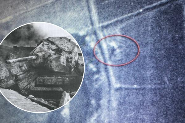 Танк Т-34 обнаружили благодаря архивным документам изНационального конгресса США