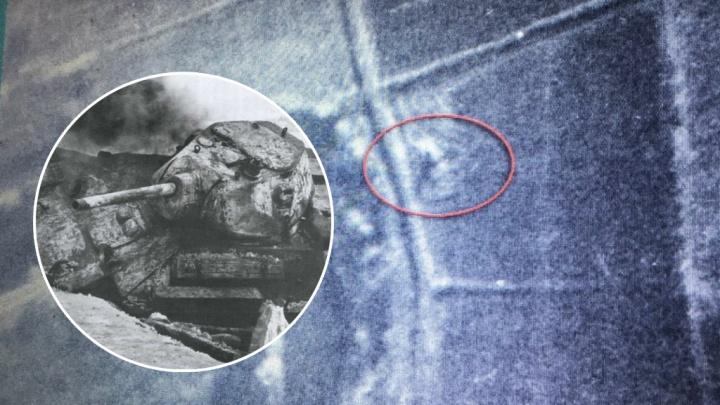 Нашли второй танк: на дне реки Миус благодаря американским военным архивам обнаружили Т-34