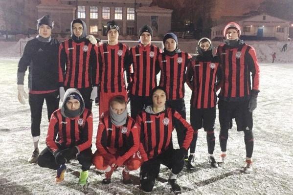 Первая победа вФутбольной народной лиге