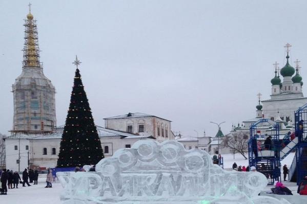 Ледовый городок позволит всем жителям Соликамска активно провести новогодние каникулы