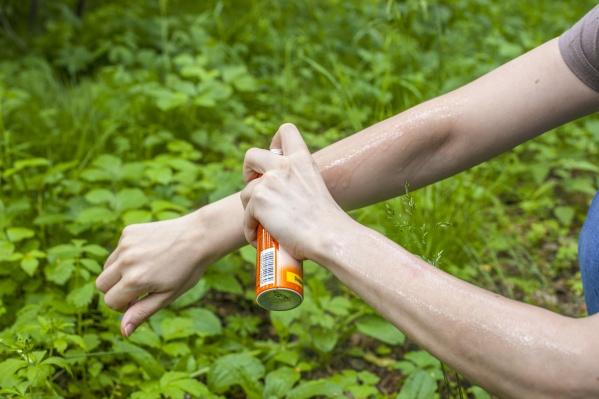 В Новосибирске продолжается нашествие мошек — новосибирцы пытаются спастись от кровососущих насекомых при помощи лосьонов и аэрозолей