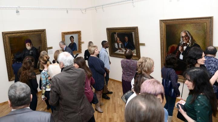 Художественный музей проводит персональную выставку народного художника СССР Александра Шилова