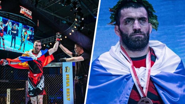 Ростовский боец стал чемпионом мира по смешанным единоборствам