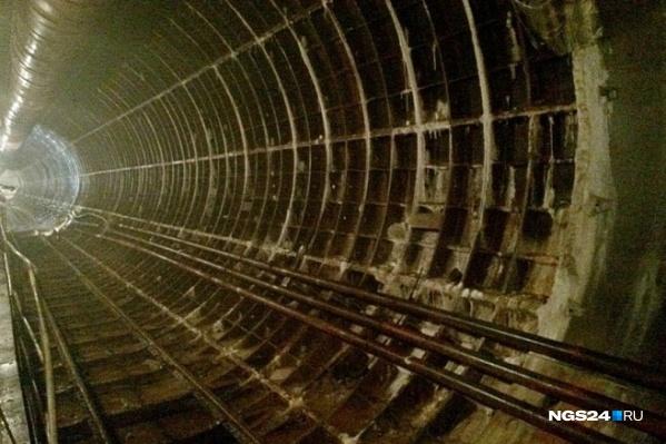 Так выглядит сейчас линия метро от Высотной до Копылова