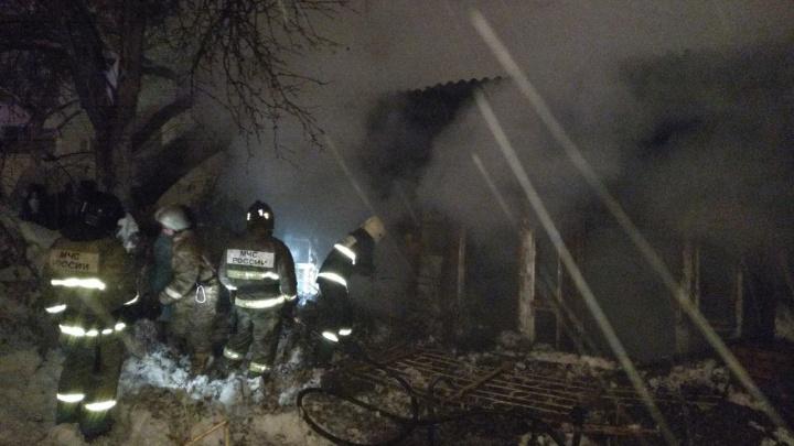 В центре Самары на пожаре погибли три человека