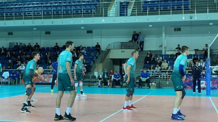 Уфимский «Урал» досрочно вышел в следующий этап Кубка России по волейболу