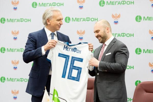 Теперь «МегаФон» — официальный телеком-партнер сборной России по футболу