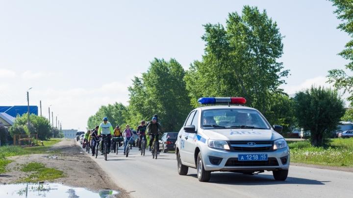 Покрутить педали ради безопасности. В Кургане пройдет агитационный велопробег