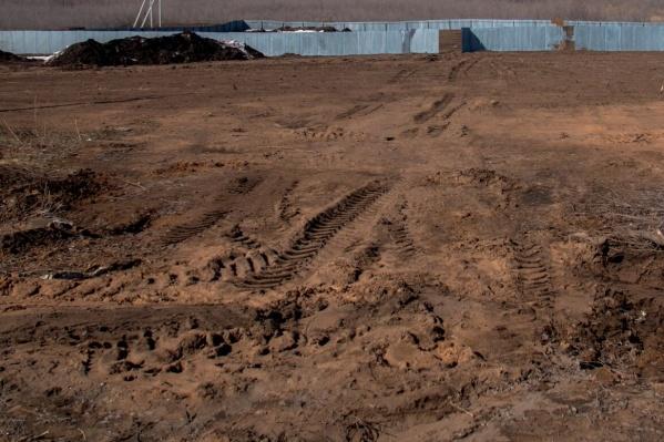 Участок земли в Рубежном продолжит пустовать