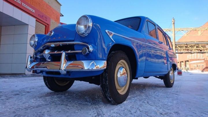 """Очень вместительный """"Москвич"""": в музее УГМК появился первый советский автомобиль с кузовом универсал"""