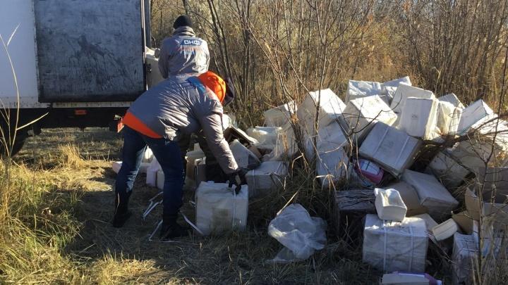 «У чиновников людей нет»: волгоградцы сами вывезли опасную свалку пестицидов из поймы реки Царицы