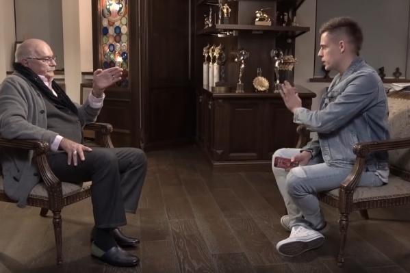 Никита Михалков признался, что в 1996 году поддерживал Ельцина,потому что не знал ничего того, что узнали потом