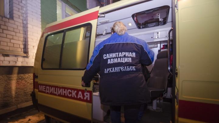 Троих пострадавших при взрыве в Архангельске перевезли в московские больницы