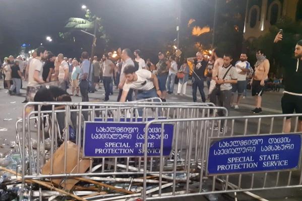 В Минздраве Грузии сообщили о 69 пострадавших