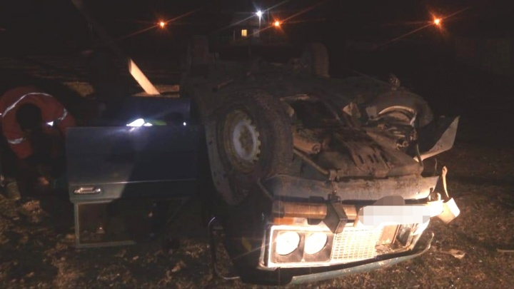 Водитель перевернул «шестерку» в Бурзянском районе Башкирии, пассажиров госпитализировали