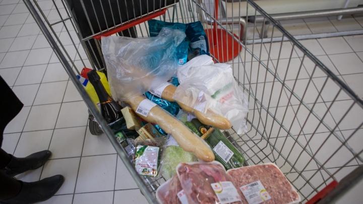 Официально: новосибирцу достаточно 4 457 рублей на продукты в месяц