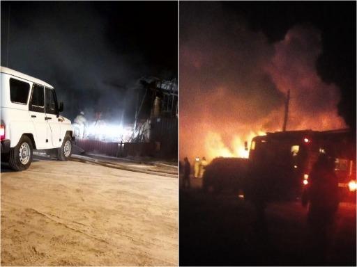 Двое маленьких детей погибли при пожаре в частном доме под Ишимом