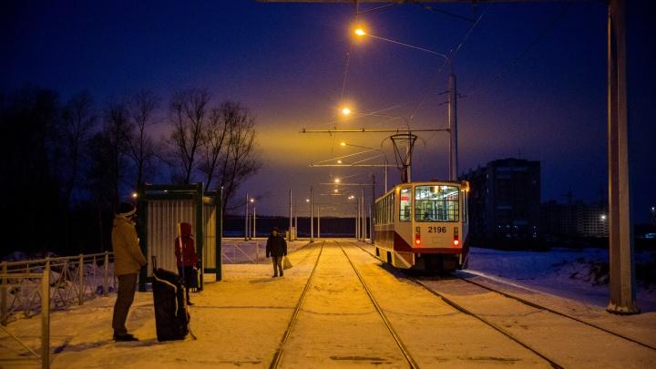 Трамвайные маршруты начнут освещать по ночам
