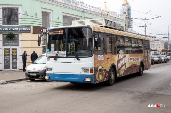 Новые троллейбусы начнут ходить по Ростову уже через несколько месяцев
