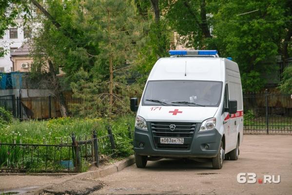 Пострадавший ребенок скончался на месте происшествия до прибытия медиков