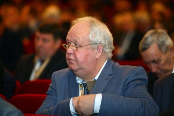 Владимир Садырин возглавлял педвуз с 2010 года, а до этого был министром образования Челябинской области.