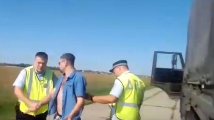 «Ночной патруль»: инспекторы ГИБДД устроили погоню за одним из руководителей военного аэродрома Кряж