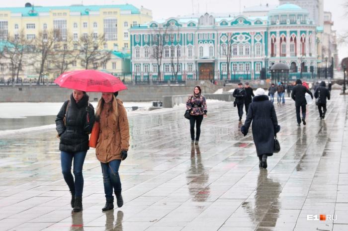 Скоро горожанам понадобятся зонты