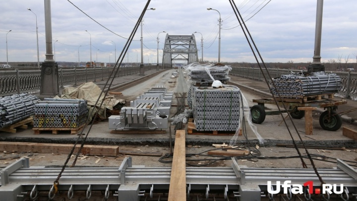Сроки сдачи старого Бельского моста в Уфе снова передвинули