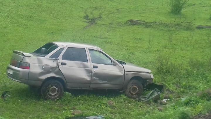Смертельное ДТП в Башкирии: водитель без прав не справился с управлением
