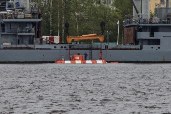 Глубоководный аппарат появился в Двинском заливе накануне