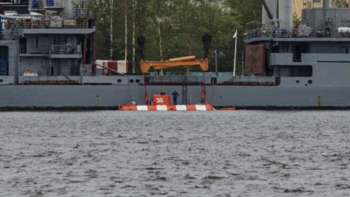 Батискаф с гидроакустической станцией: в Двинский залив Белого моря пришёл глубоководный аппарат