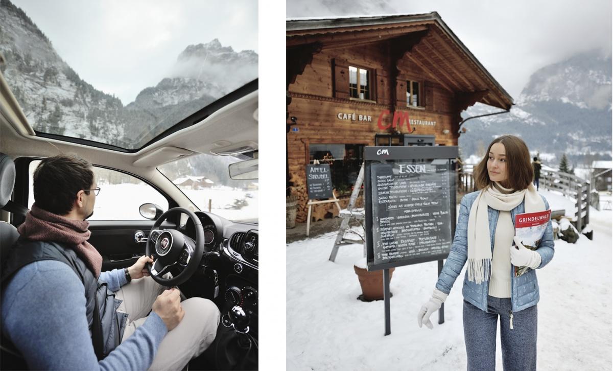Если становится скучно в итальянской провинции, Екатерина и Алексей едут в соседнюю Швейцарию