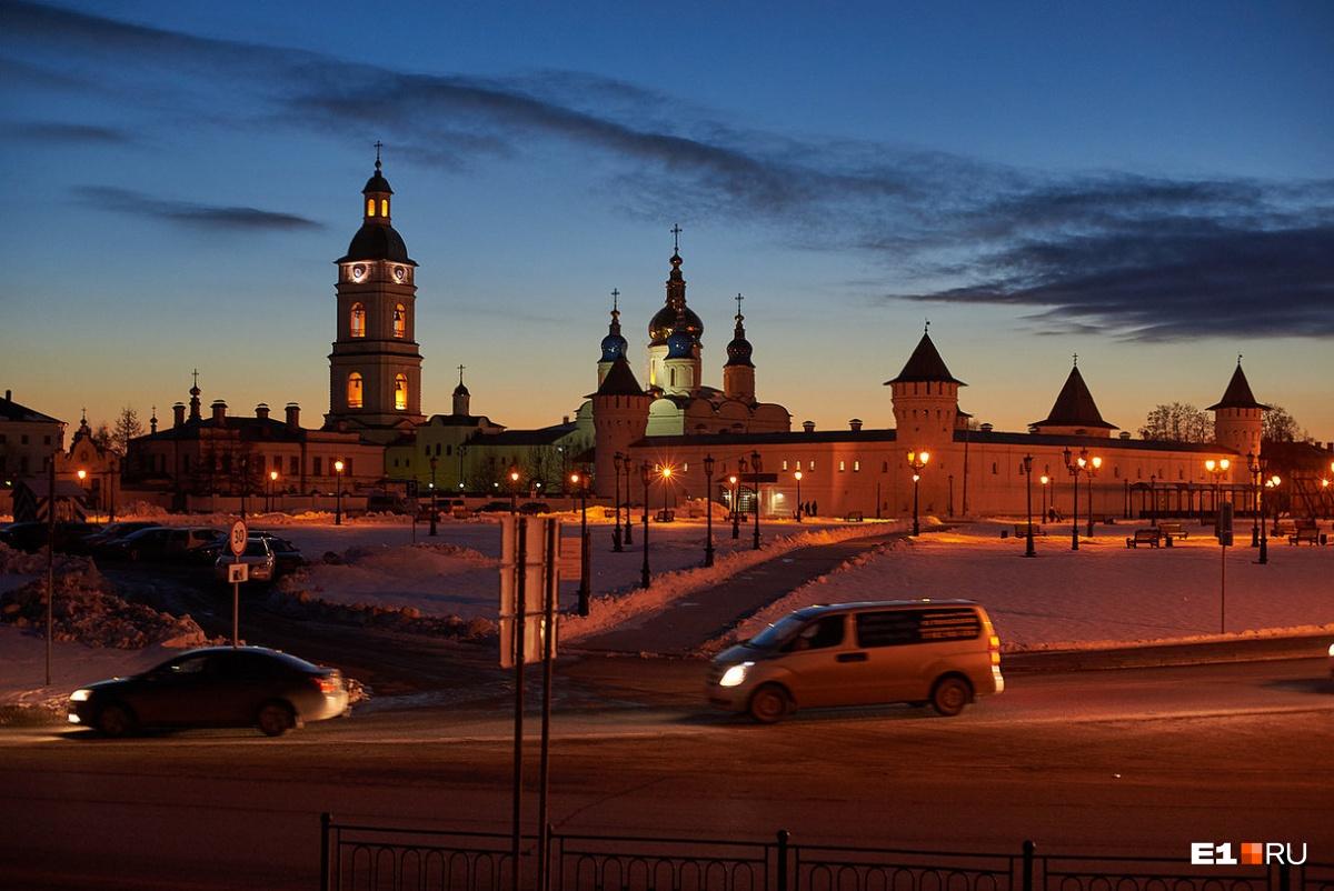 Ночной Тобольск тоже хорош
