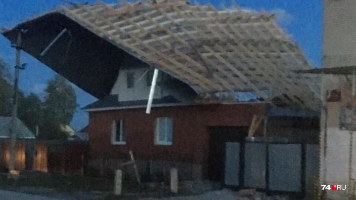 «Света не было с обеда»: ураганный ветер обесточил 15 городов и сёл в Челябинской области