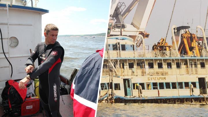 «Тяжелее всего было доставать детей»: самарский спасатель — об операции на затонувшей «Булгарии»