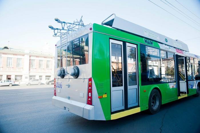 Испытывать новую систему оплаты проезда будут в троллейбусе  № 29