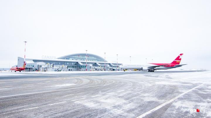 12 часов в аэропорту: в Самаре задержали несколько рейсов из-за морозного тумана