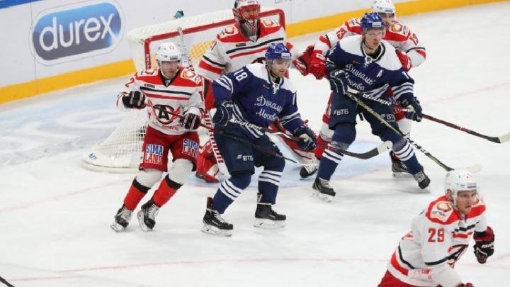 «Автомобилист» уступил московскому «Динамо» и прервал свою победную серию
