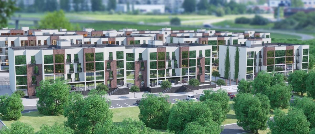В необычном микрорайоне будущего с видом на лес продаются квартиры от 1 320 тысяч рублей