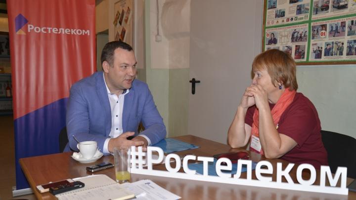 Руководитель «Ростелекома» в Красноярске представил журналистам ключевые проекты компании