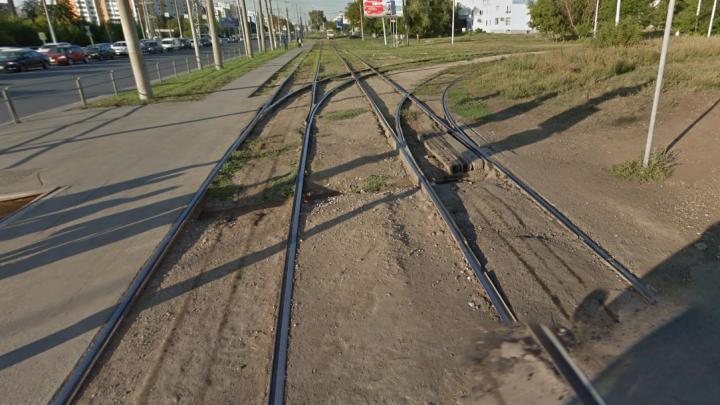 Трамвайный поворот с Ново-Садовой на Ново-Вокзальную будут реконструировать